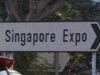 Singapore  Expo  Road  Sign