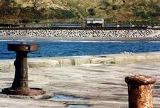 Single Coach Railcar @ Whitehaven Dock UK Cumbria