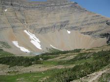 Siyeh Pass Trail Views - Glacier - Montana - USA