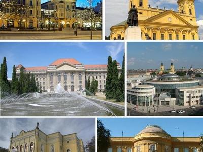 Skyline Of Debrecen