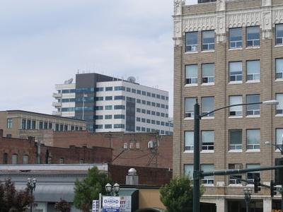 Skyline Of City Of Everett