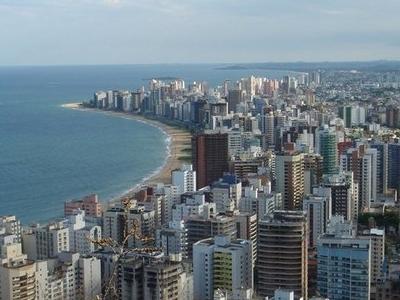 Skyline Of Vila Velha.