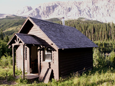 Slide Lake-Otatso Creek Patrol Cabin - Glacier - USA