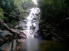 Small Waterfall In Wuyi Mountains