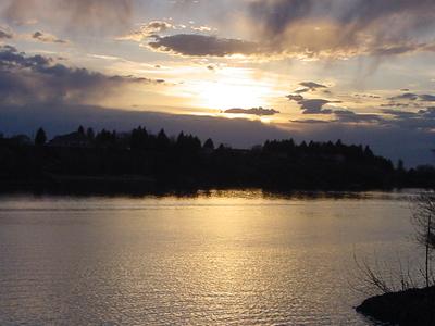 Snake River From Heyburn Toward Burley