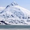 Snow Covered Bard Peak - Portage Visitor Center Alaska