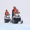 Snow-mobile Ride Near Kangerlussuaq