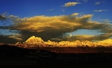 Snow Mountain Landscape - Sichuan Province - China