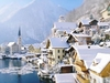 Snow Over Hallstatt - Austria