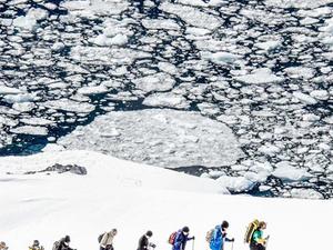 Antarctic Snowshoeing Tour Photos