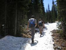 Snyder Lake Trail Views - Glacier - Montana - USA