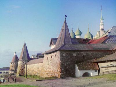 Solovetsky Monastery In 1915