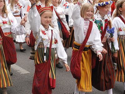 Song & Dance Festival Parade, Estonia