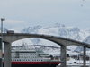 Sortland Bridge And Hurtigruta February