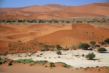 Sossusvlei Seen From The Dunes