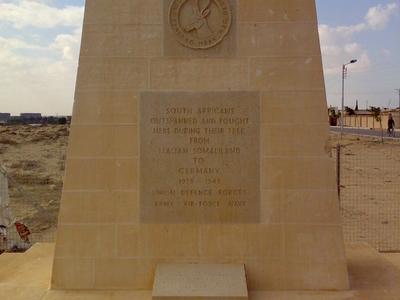 South  African  Memorial  El  Alamein