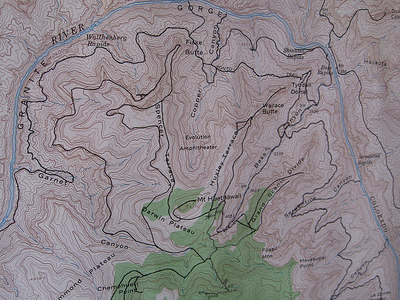 South Bass Trail - Grand Canyon - Arizona - USA