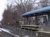 Southborough  Commuter  Rail  Train  Arriving