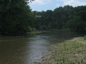 South Branch Kishwaukee Río