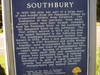 Southbury Town History Sign