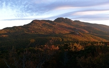 Southeastern Face Of Grandfather Mountain NC