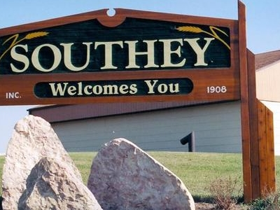 Southey Welcome Sign