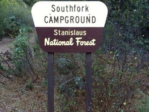 Estanislao del Sur Campground Tenedor
