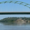 South Sioux City Nebraska Veterans Bridge From D S 2