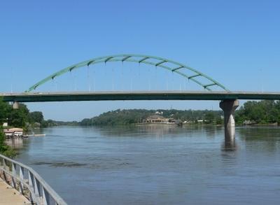 South  Sioux  City  Nebraska  Veterans  Bridge From  D S  2
