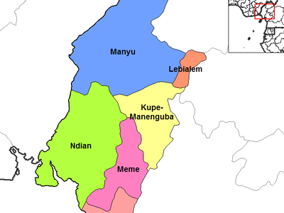 Southwest  Cameroon Divisions