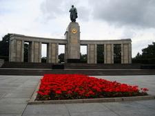Front Of The Soviet War Memorial