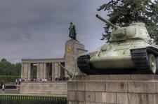 Soviet World War II Memorial In Berlin