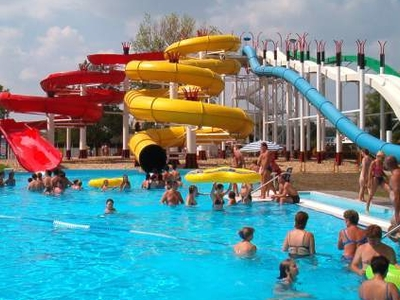 Spa And Aquapark Of Kecskemét - Hungary