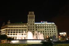 A Fountain At Plaça De Catalunya