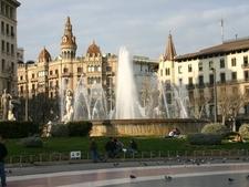 Corner Of Plaça De Catalunya With Passeig De Gràcia