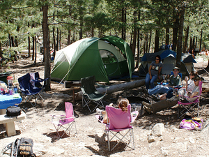 Spencer Canyon Campground