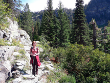 Sperry Chalet Trail At Glacier - Montana - USA