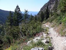 Sperry Chalet Trail Views - Glacier - Montana - USA
