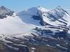 Sperry Glacier Beneath Snowy Gunsight Mountain