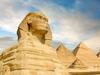 Sphinx & Pyramids At Giza
