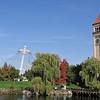 Spokane Riverfront Park & Clock Tower WA