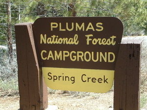 Plumas Spring Creek Campground