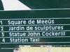 Square De Meeus Sign