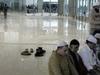 Srinagar  Airport  Praying