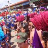 Stage Crossing At Trinidad Carnival