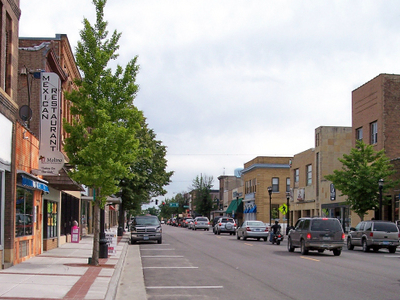 State Street In Downtown Waseca