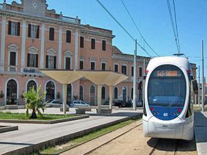 Sassari estación de tren