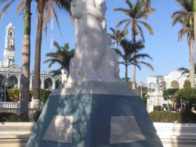 Statue At The Municipal Plaza