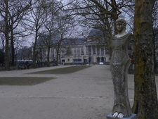 Statue At Brussels Park
