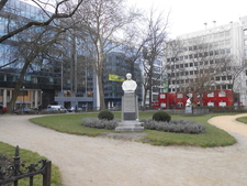 Statue At Square De Meeus
